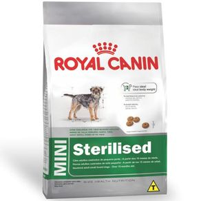 Racao-Royal-Canin-Mini-Sterilised-para-Caes-Adultos-de-Racas-Pequenas-com-10-Meses-ou-Mais