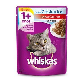 Racao-Whiskas-Sache-Carne-Gatos-Castrados