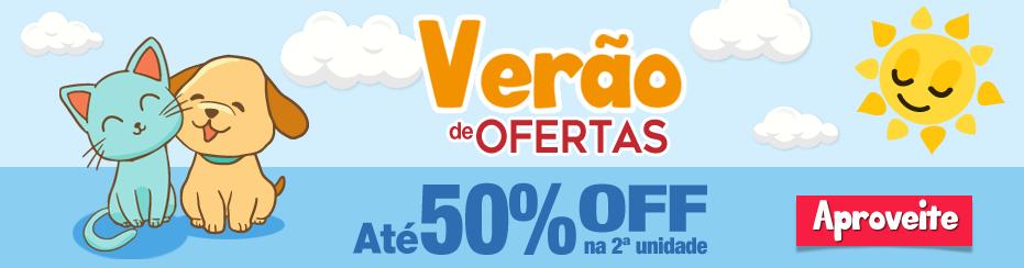 banner 50% off verao