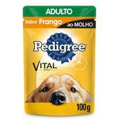 Racao-Pedigree-Sache-Adulto-Racas-Medias-e-Grandes-Frango-ao-Molho-100g