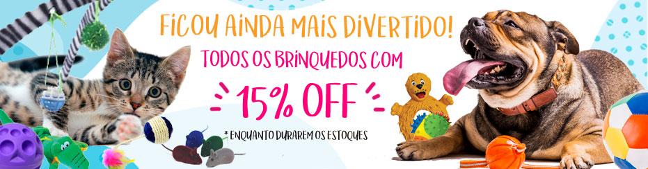 BANNER PROMOÇÃO BRINQUEDOS 15% OFF