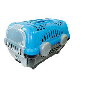 Caixa-de-transporte-pet-luxo-azul-N2-Furacao-Pet