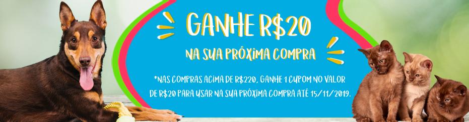BANNER GANHE 20 NAS COMPRAS ACIMA DE 220