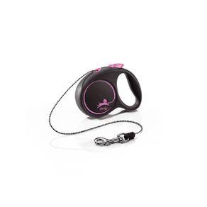 flexi_Black_Design_XS_Cord_3m_pink